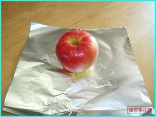 ストーブで焼きリンゴ1.JPG