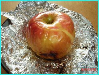 ストーブで焼きリンゴ4.JPG