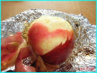 ストーブで焼きリンゴ5.JPG